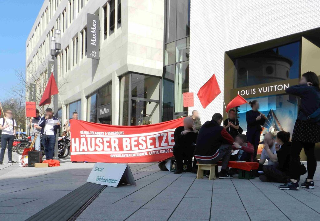 Stadtrundgang für bezahlbaren Wohnraum und ein soziales Stuttgart