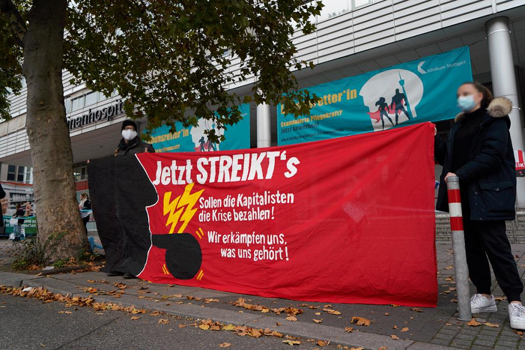 Streik öffentlicher Dienst Stuttgart