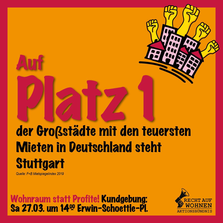 Stuttgart: Platz 1 unter den teuersten Großstädten in Deutschland